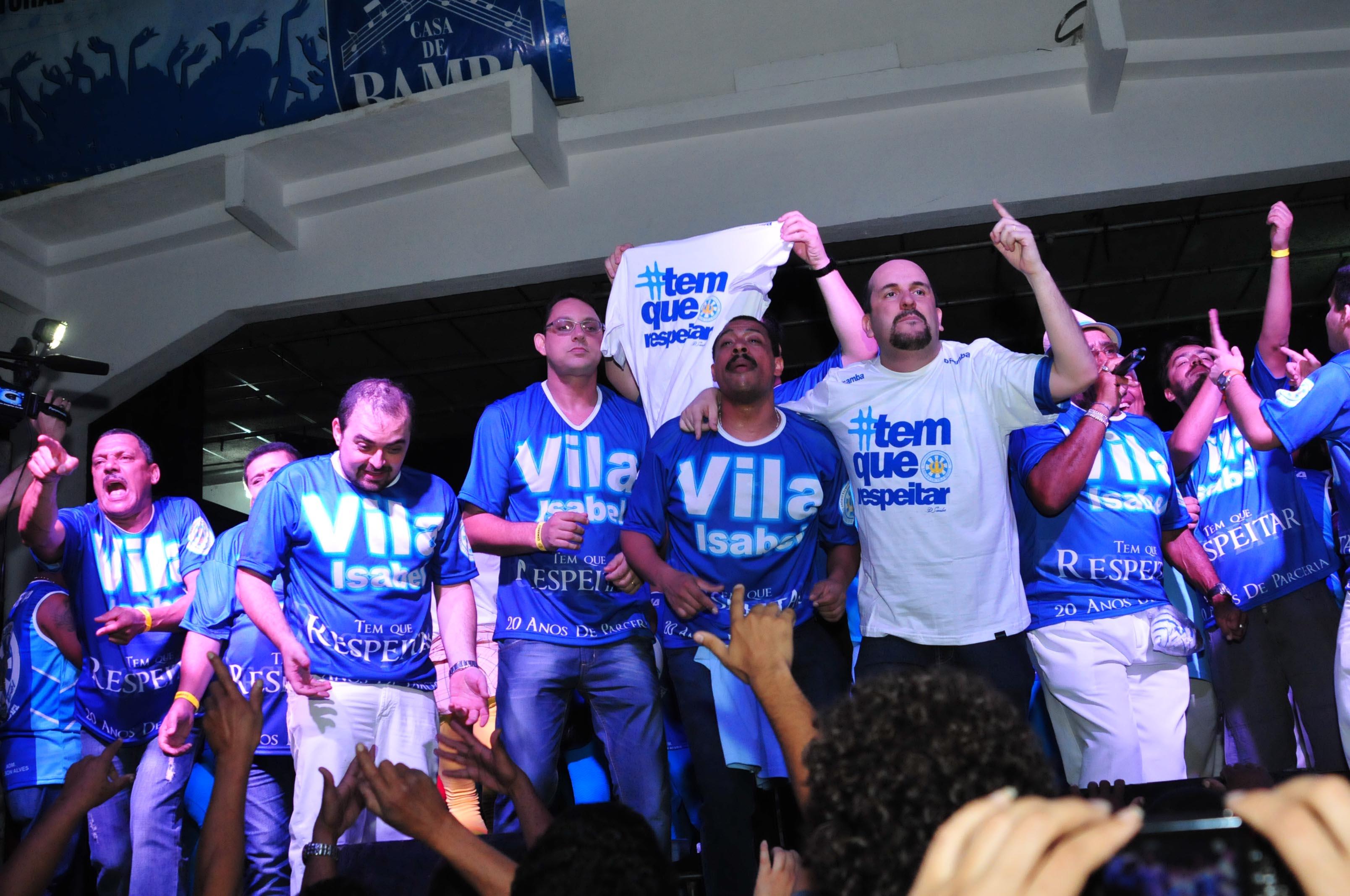 André Diniz campeão na Vila Isabel