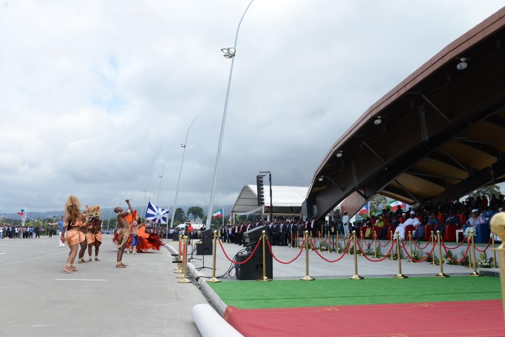 Beija-Flor levou o samba carioca para a Guiné Equatorial