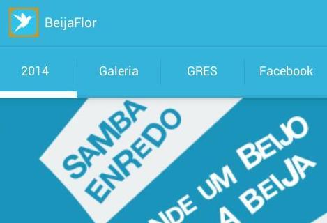 Beija-Flor lança aplicativo