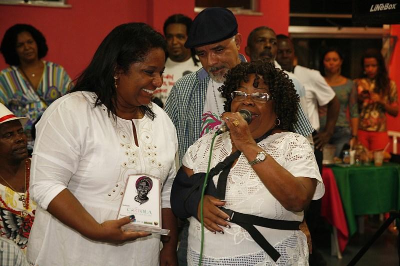C.C. Cartola homenageou mães do samba