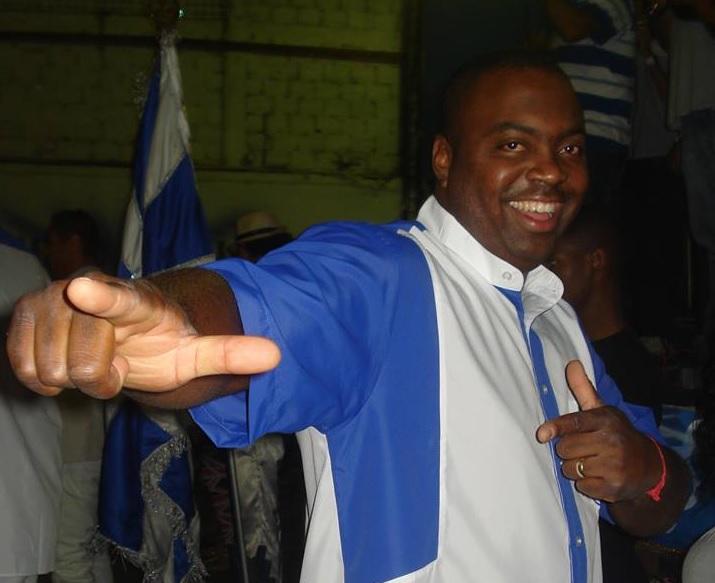 Mestre Zumbi na Unidos de Bangu