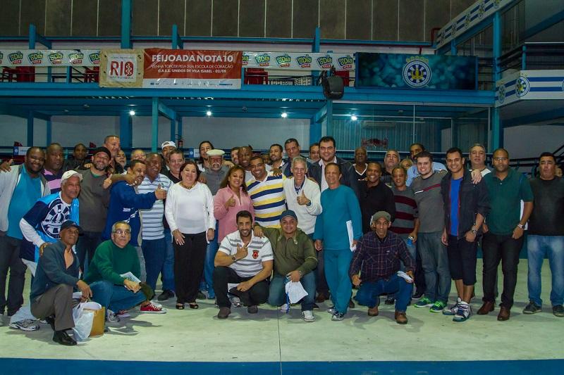 Vila Isabel terá 18 sambas na disputa
