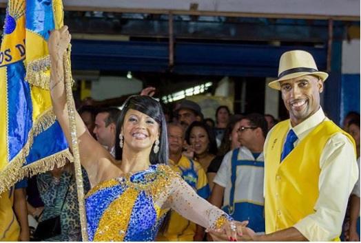 Julinho e Rute em papo sobre suas trajetórias no carnaval