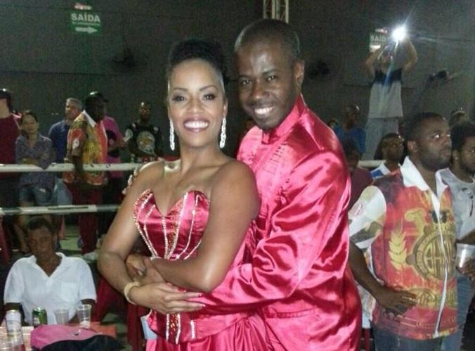 Laís Moreira é a nova porta-bandeira da Unidos de Bangu
