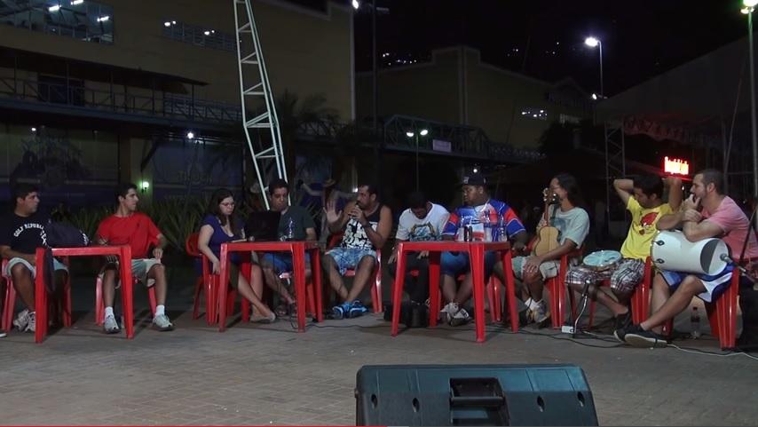 Tavinho, Schall e Cadu no debate