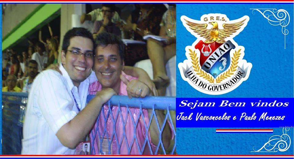 Jack e Paulo Menezes na Ilha