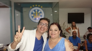 Alex de Souza e Dona Beta
