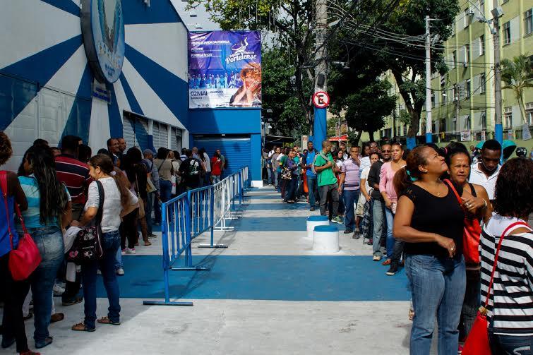 1,5 mil vagas de emprego em evento na Portela