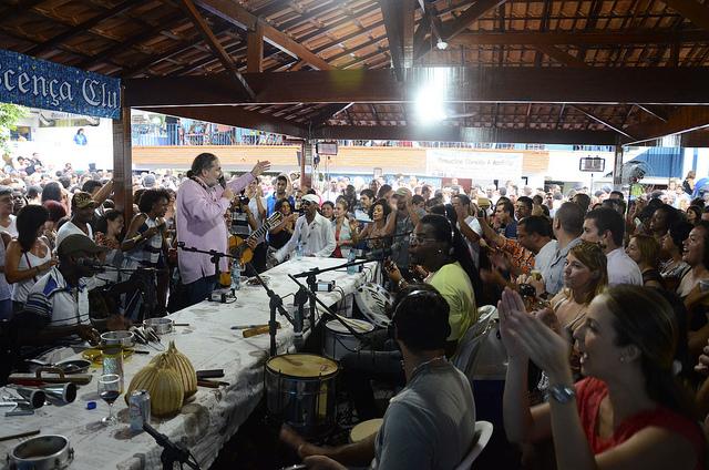 Samba do Trabalhador em Ipanema