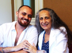 Leandro Vieira e Maria Bethânia