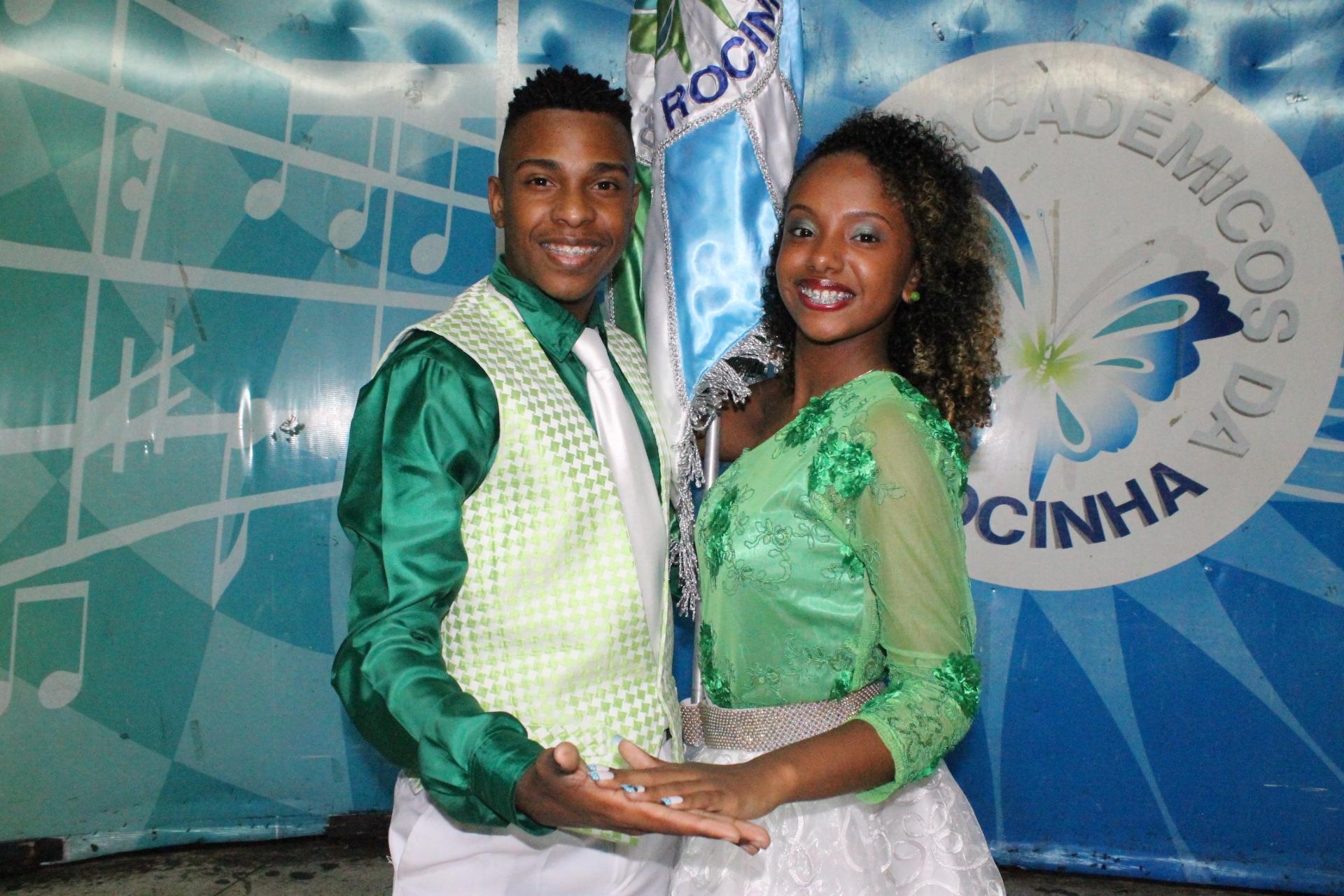 Rocinha apresenta segundo casal