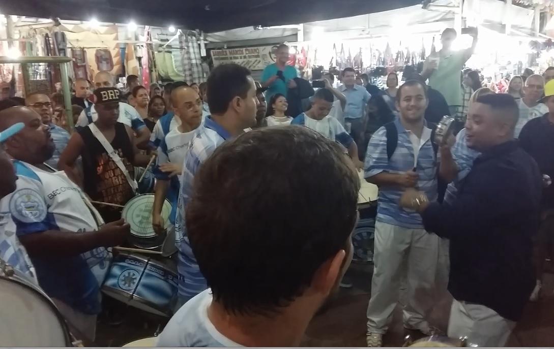 Vila invade a Feira de São Cristóvão para lançar o enredo