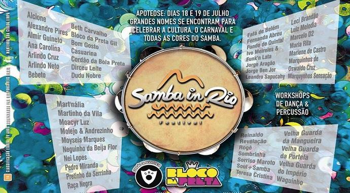 Samba In Rio acontece neste fim de semana