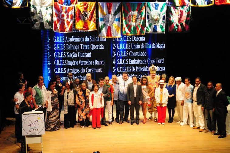 Florianópolis sorteia ordem de desfile no dia 20