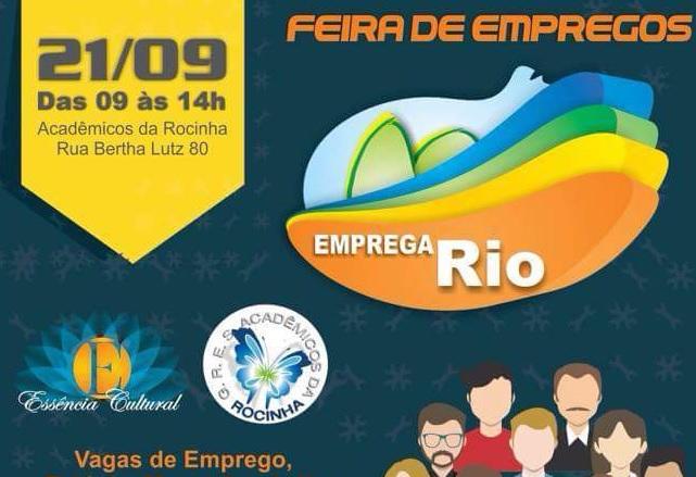 Rocinha promove feira de empregos
