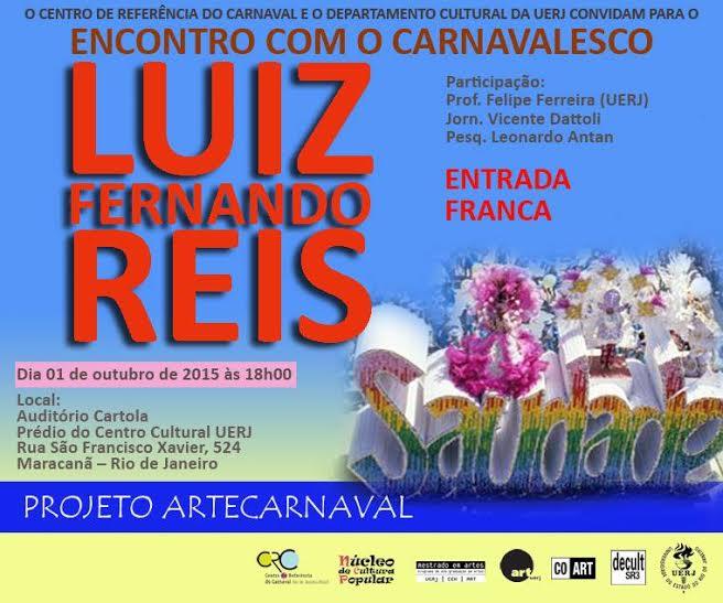Uerj promove encontro com Luiz Fernando Reis