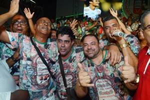 Parceria do samba vencedor Grande Rio_Foto Diego Mendes
