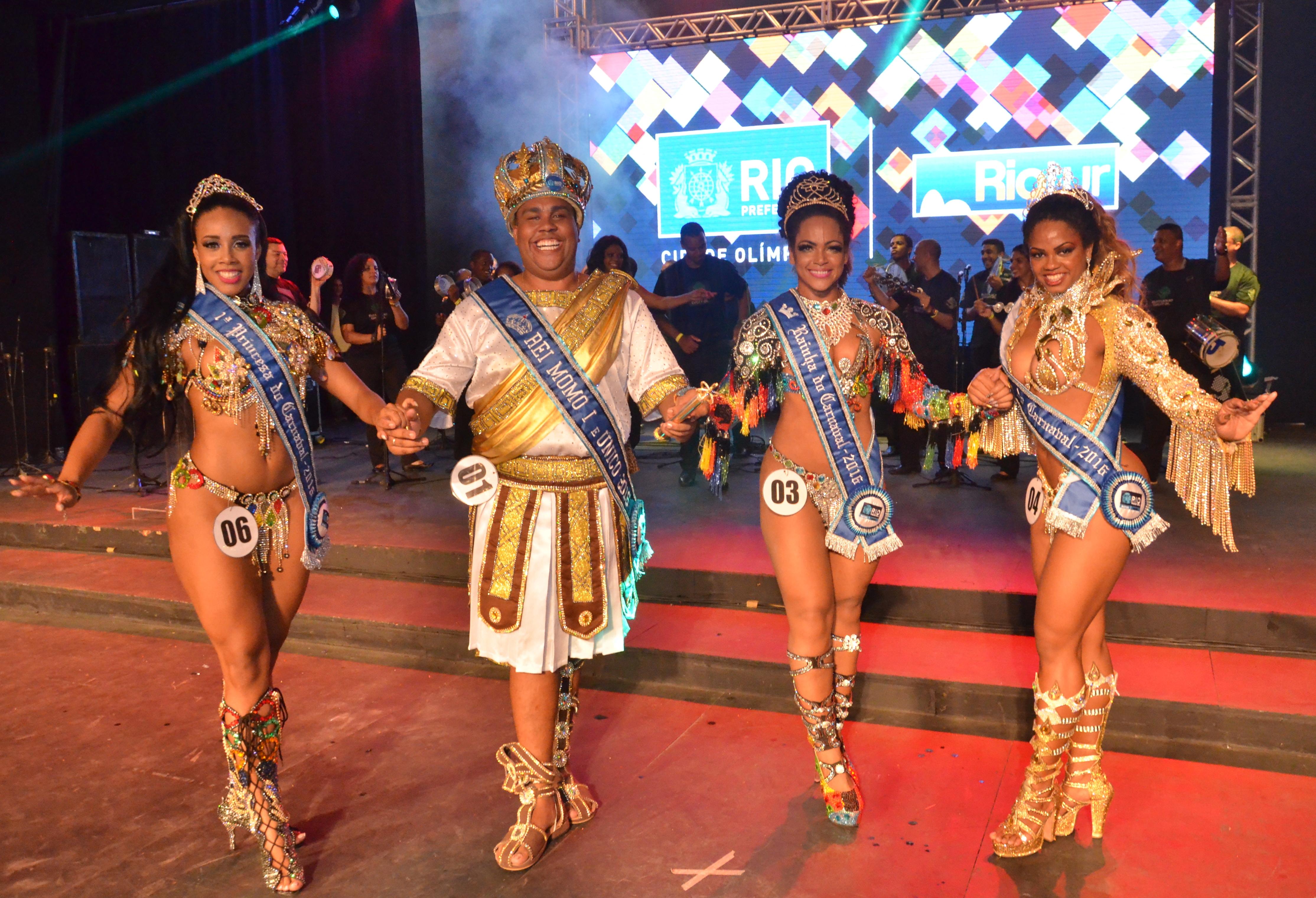 Corte do Carnaval 2016 é eleita