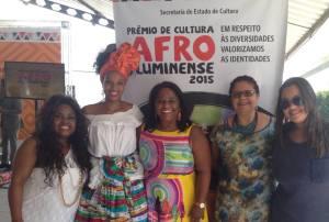 EQUIPE MUSEU DO SAMBA NO PR-EMIO DE CULTURA AFRO FLUMINENSE Foto Desirrée Reis
