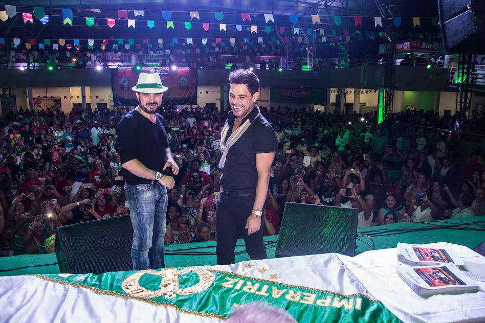 Zezé e Luciano farão show na Imperatriz