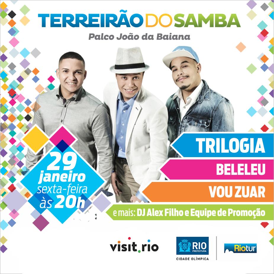 Terreirão do Samba abre carnaval popular nesta sexta