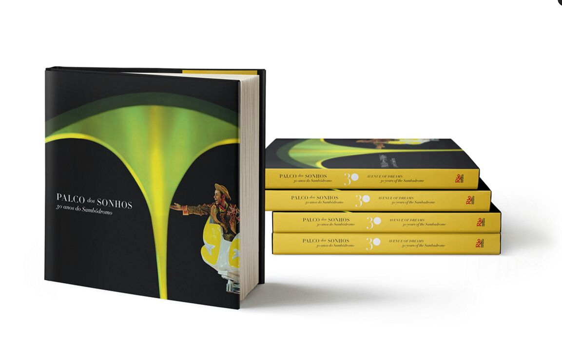Rio Samba e Carnaval lança livro sobre os 30 anos do Sambódromo
