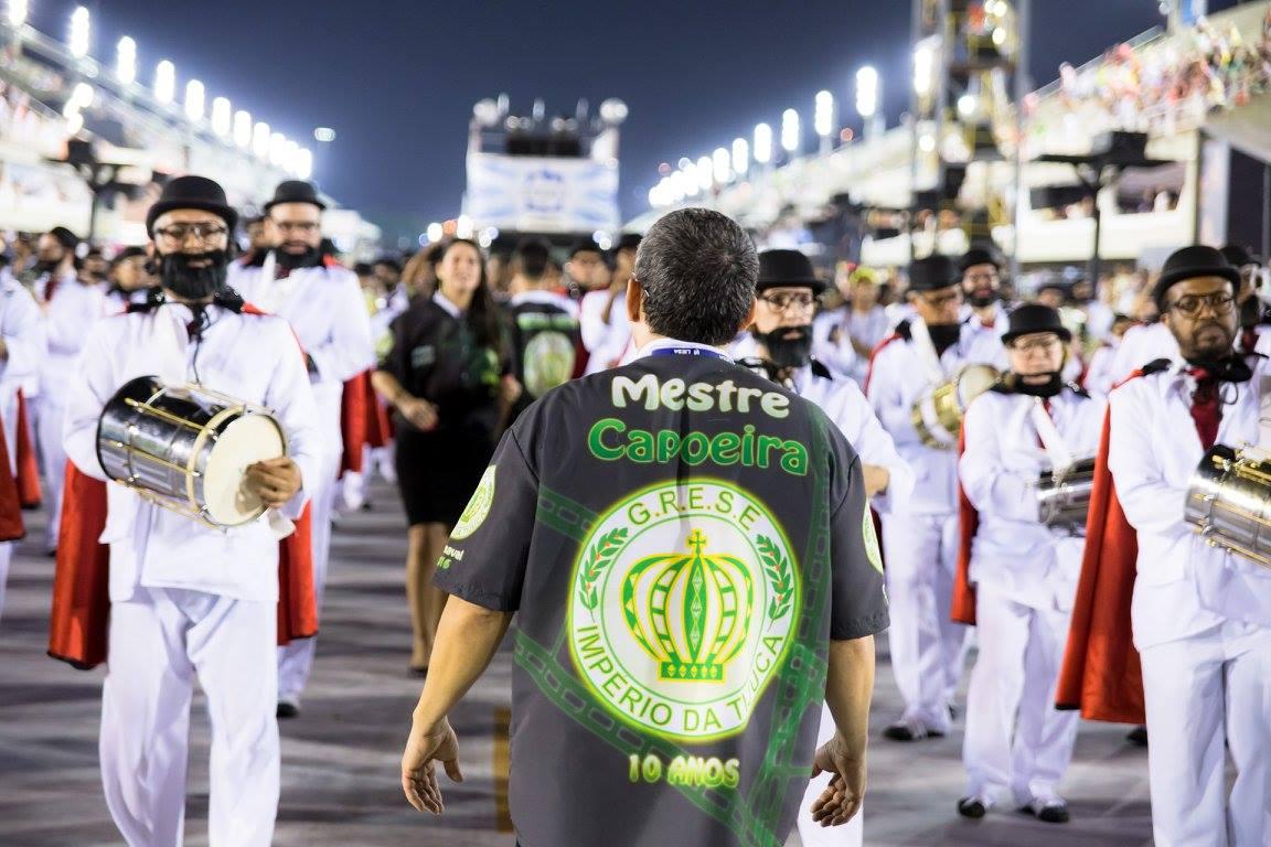Mestre Capoeira deixa a Sinfonia Imperial