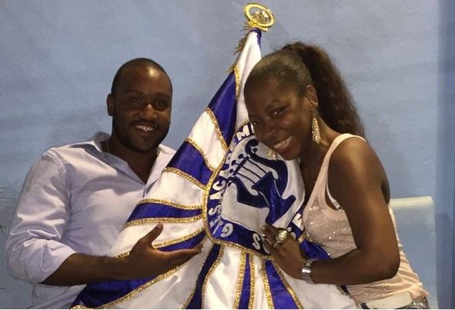José Roberto Junior e Naninha são o primeiro casal do Sossego