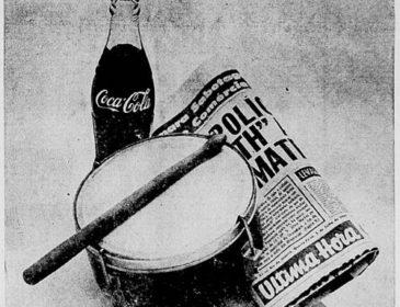 Samba, suor e Coca-Cola