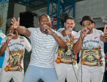 Oito sambas classificados na Vila