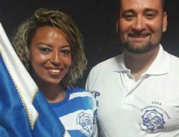 Nani Ferreira é a nova primeira porta-Bandeira do Acadêmicos do Dendê