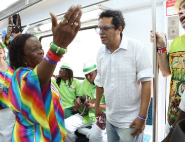 Trem do Samba 2016 comemora os 100 anos do gênero musical