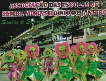 Ouça o CD das escolas de samba mirins