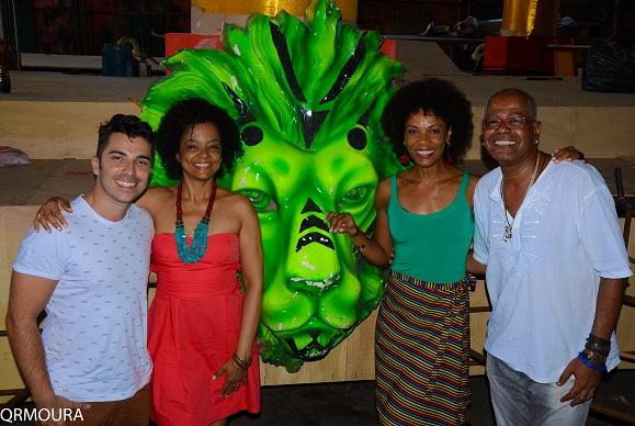 Maria Ceiça, Veluma e Lica Oliveira confirmam participação no desfile da Estácio