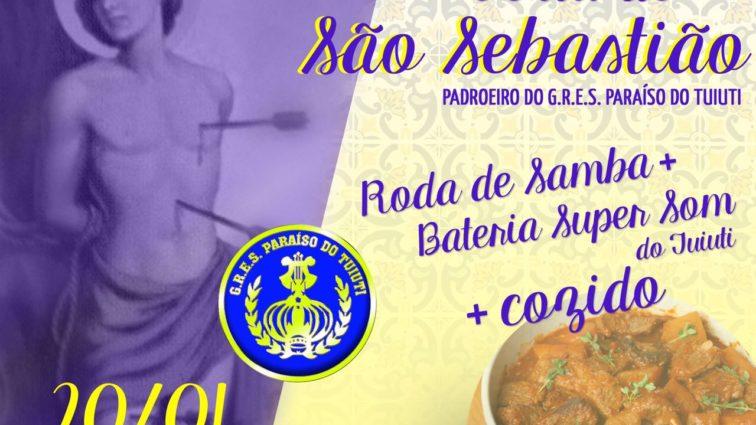 Tuiuti faz festa gratuita para comemorar dia de São Sebastião