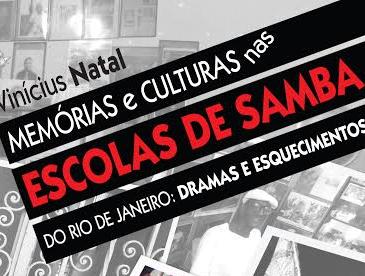 Livro sobre memórias das escolas de samba será lançado nesta quinta-feira