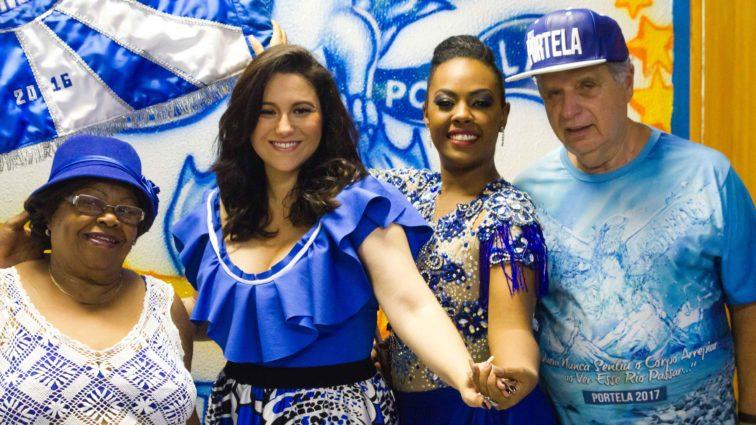 Cantora Maria Rita recebe convite para desfilar pela Portela