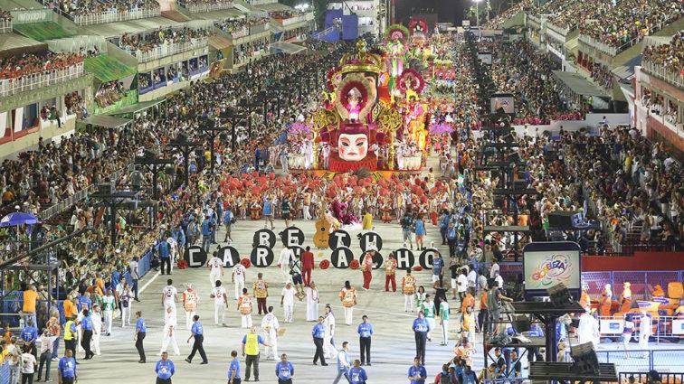 Plástica e desempenho do samba são os destaques da Alegria da Zona Sul