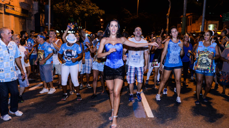 Vila Isabel apresenta musas do Carnaval 2017