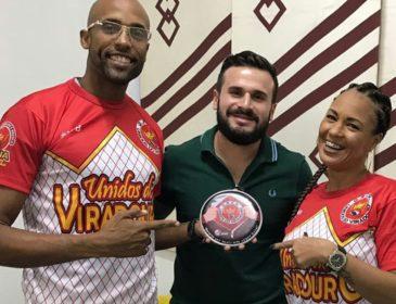Julinho e Rute Alves são o novo primeiro casal da Viradouro