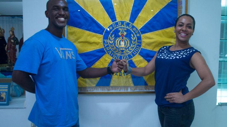Danielle Nascimento e Marlon Flores são o novo primeiro casal do Tuiuti