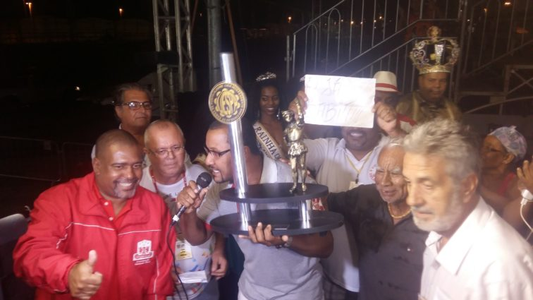 Imperadores do Samba vencem o Carnaval de Porto Alegre