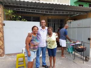 Elenice, José Mário e Vera