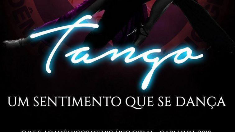 Tango é o enredo da Acadêmicos de Vigário Geral