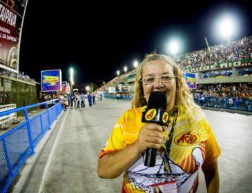 Samba perde a radialista Liza Carioca, vítima do acidente com o carro do Tuiuti
