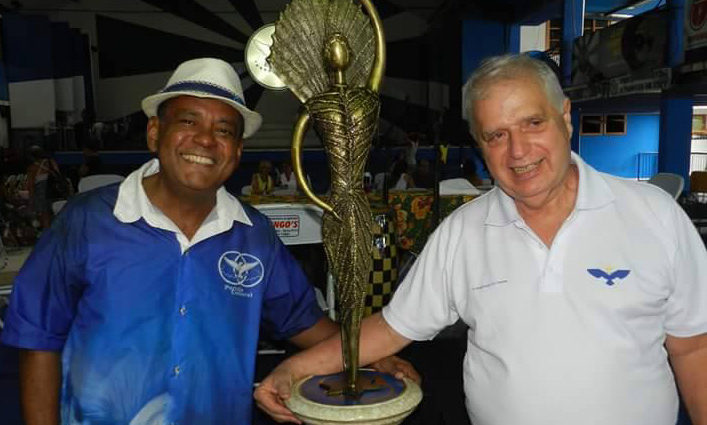 Diretoria da Portela participa de evento cultural em Brasília nesta quarta-feira