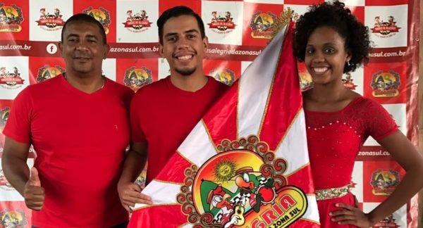 Paulo Roberto é o novo mestre-sala da Alegria da Zona Sul