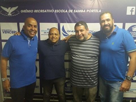 Comissão de Carnaval da Portela ganha novos integrantes