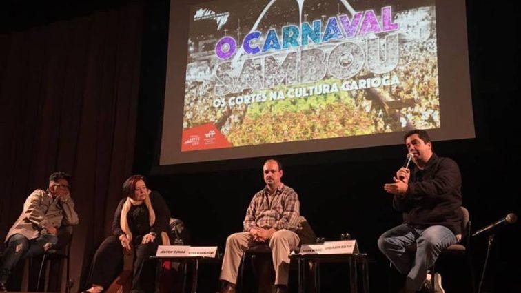 Ouça, na íntegra, o debate da UFF sobre a crise do Carnaval