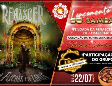 Renascer apresenta samba com feijoada no sábado